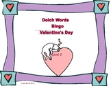 Valentine Bingo Game- Sight Words for Grade 2