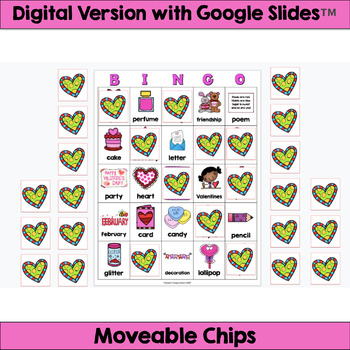 graphic relating to Valentine Bingo Printable named Valentine Bingo: Printable and Electronic Types!