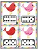 Valentine Bird Domino Counting and Addition
