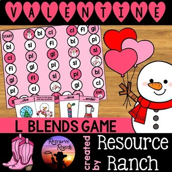 Valentine's Day Game: L Blends