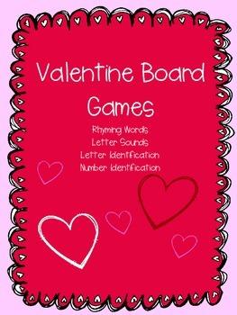 Valentine Board Games