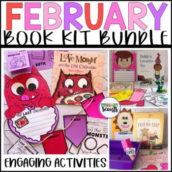 Valentine Book Companion Craft and Activity BUNDLE