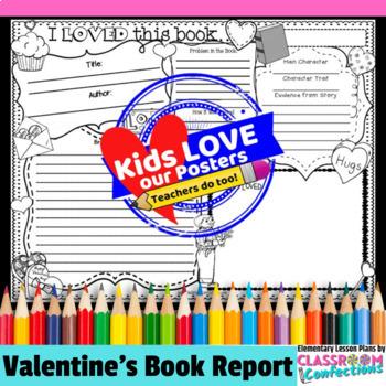 Valentine's Activity: Valentine's Book Report