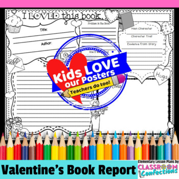 Valentine's Activity: Book Report