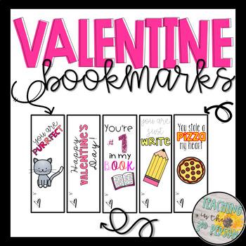 Valentine Bookmarks