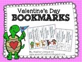 Valentine Bookmarks Cute Animals