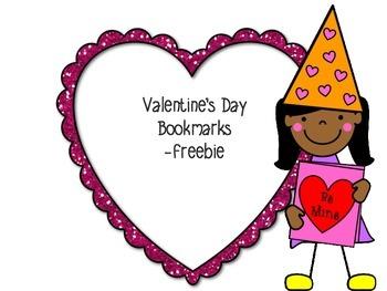 Valentine Bookmarks -Freebie