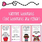 Valentine Bookmarks (Joke and regular versions)