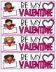 Valentine Bookmarks - Personalized and Editable
