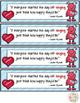 Valentine Bookmarks for Choir