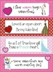 Valentine Day Bookmarks with Super Heroes and Princesses