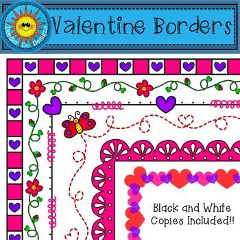 Valentine Borders