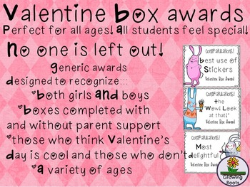 Valentine Box Awards