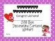 Valentine Box Decorating Contest Certificates