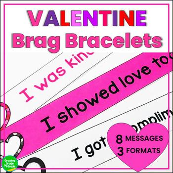 Valentine Brag Tag Bracelets
