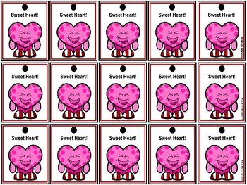 Valentine Brag Tags