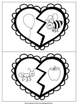 Valentine - Broken Hearts {Beginning Sounds}