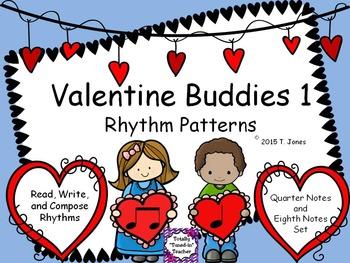 Valentine Buddies 1 {Ta, Ti-Ti Rhythm Pattern Fun}