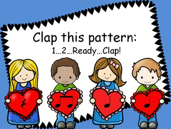 Valentine Buddies 2 {Rest, Ta, Ti-Ti Rhythm Pattern Fun}