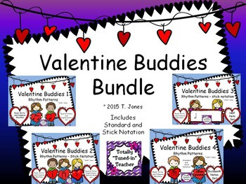 Valentine Buddies Bundle {Rhythm Pattern Fun}