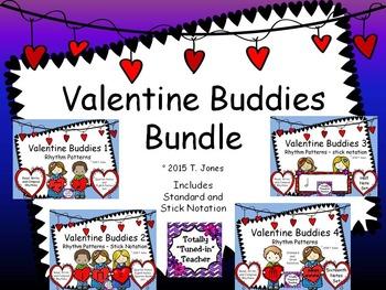 Valentine Buddies Bundle {Rhythm Pattern Fun}