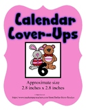 Valentine Buddies themed Calendar Cover-Ups