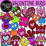 Valentine Buds: Valentine Clipart {Creative Clips Clipart}