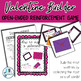 Valentine Builder: Open Ended Reinforcement Game for Mixed Speech Therapy Groups