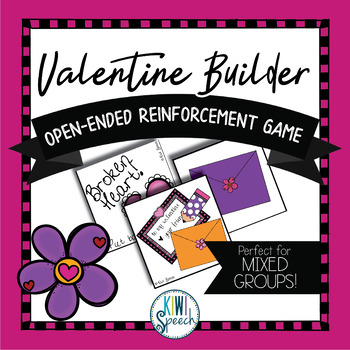 Valentine Builder: Open Ended Reinforcement Game: Great fo