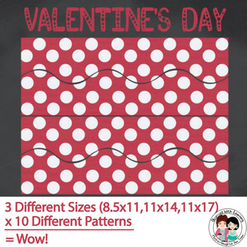 Valentine Bulletin Board Border