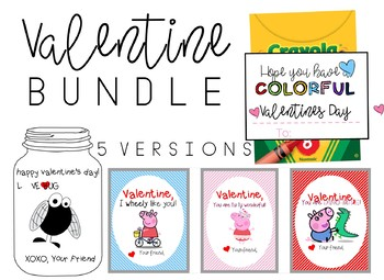Valentine - Bulletin Board Bundle