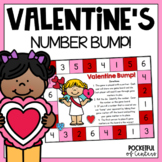 Valentine Bump! Number Recognition Game