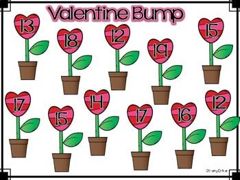 Valentine Bump Teen Math Game