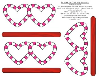 Valentine Bundle *'Read the Room' (EDITABLE) & 'Count the Room to 20'*