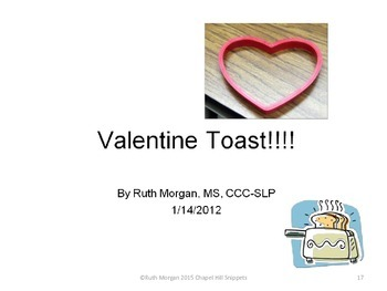 Valentine Activity Pack- Book, Bingo, and recipe with communication board