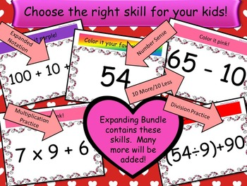 Valentine Bundle Watch, Think, Color Games - EXPANDING BUNDLE