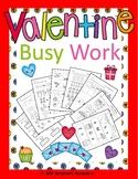 Valentine Busy Work