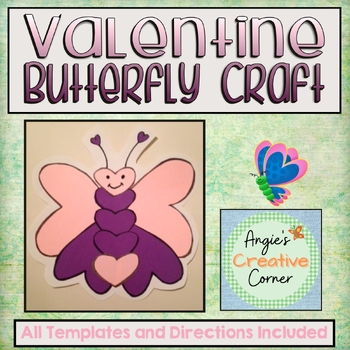 Valentine Butterfly Project