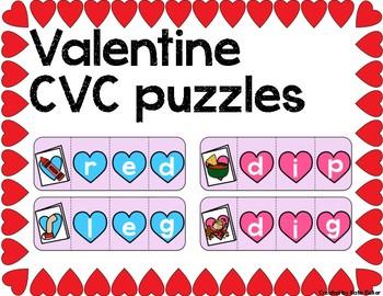 Valentine CVC Puzzle