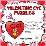 Valentine CVC Puzzles