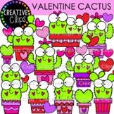 Valentine Cactus Clipart {Valentine Clipart}