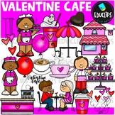 Valentine Cafe Clip Art Set {Educlips Clipart}