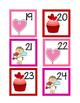 Valentine Calendar Numbers