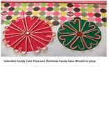 Valentine Candy Cane Pizza is a Fractional Treat