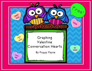 Valentine Candy Conversation Hearts Graph - FREE!