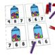 Valentines Day Math Center Counting Clip Cards Counting 1-20