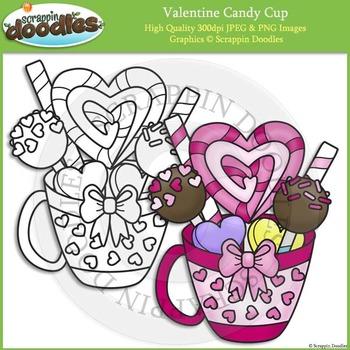 Valentine Candy Cup FREEBIE :)