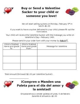 Valentine Candy Gram By Maureen H Teachers Pay Teachers