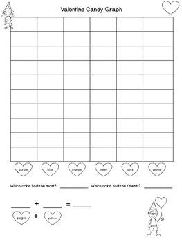 Valentine Candy Graph -Freebie