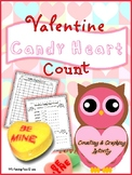Valentine Candy Heart Count {Valentine's Day}